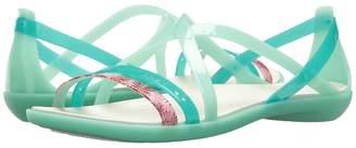 Crocs Isabella Cut Graphic Strappy Sandal Women's Shoes