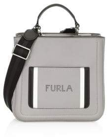 Furla Small Reale Leather Tote Bag