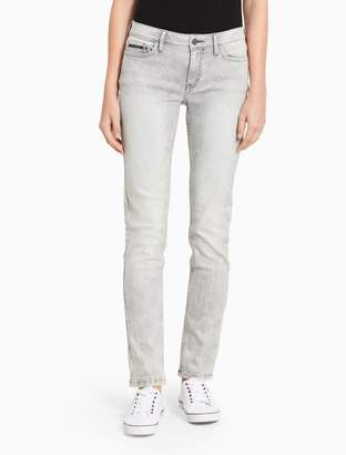 Calvin Klein ultimate skinny grey jeans