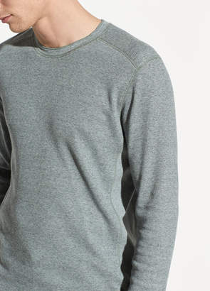 Waffle Long Sleeve Pullover