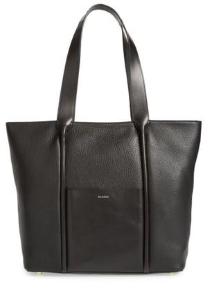 Skagen Large Lisabet Leather Tote - Black $365 thestylecure.com