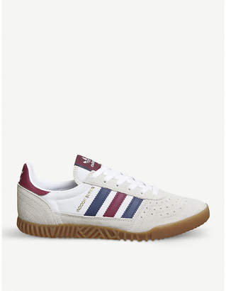 adidas Indoor Super low-top suede trainers