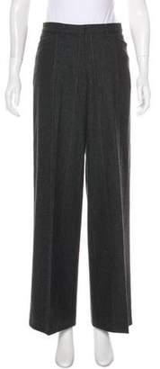 Gunex Wool High-Rise Pants