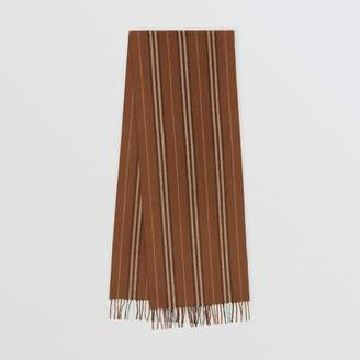 Burberry Icon Stripe Cashmere Scarf