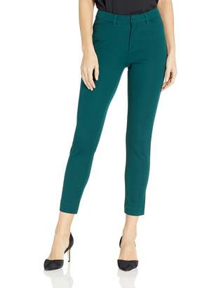 Amazon Essentials Women's Solid Bi-Stretch Ankle Pant