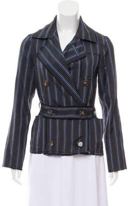 Lanvin Lightweight Striped Blazer