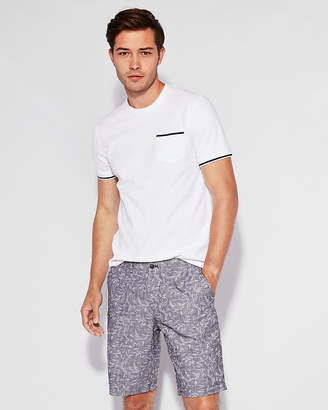 Express Classic Printed 10 Inch Shorts