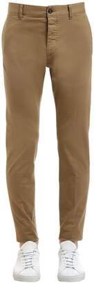 DSQUARED2 16.5cm Admiral Stretch Cotton Pants