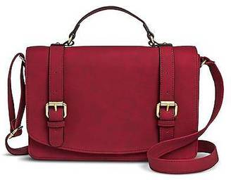 Merona; Women's Solid Crossbody Faux Leather Handbag with Buckle Detailing - Merona&#... $39.99 thestylecure.com