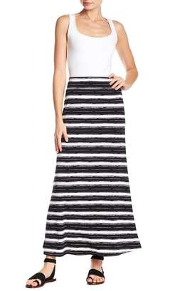 Karen Kane Colorblock Stripe Maxi Skirt