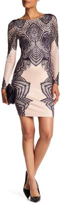 London Dress Company Long Sleeve Shift Dress $110 thestylecure.com