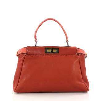 Fendi Peekaboo leather crossbody bag