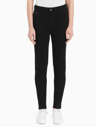 Calvin Klein skinny high rise norse ankle jeans
