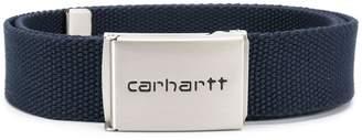 Carhartt Heritage logo plaque belt