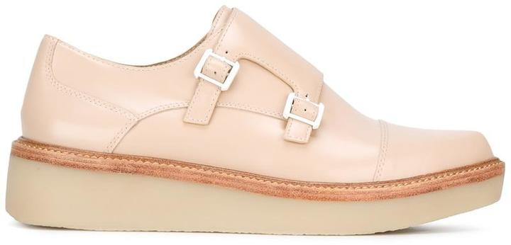 DKNY DKNY platform monk shoes