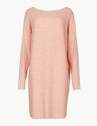Marks and Spencer Cosy Long Sleeve Lounge Dress