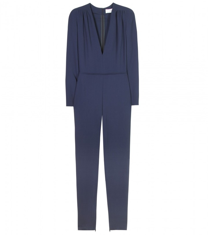 Stella McCartney ARABEL JUMPSUIT WITH PADDED SHOULDERS