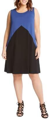 Karen Kane Colorblock Shift Dress