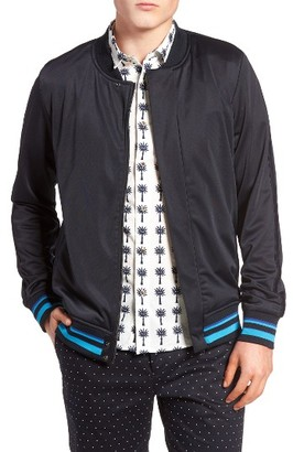 Men's Scotch & Soda Embroidered Track Jacket $165 thestylecure.com