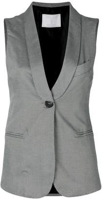 Societe Anonyme Perfect Palace striped waistcoat