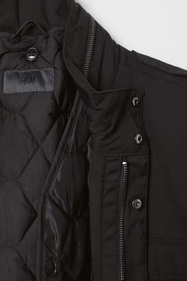 H&M Water-repellent Jacket - Black