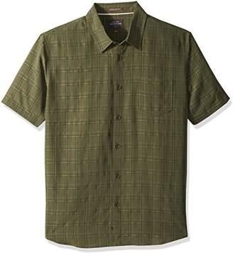 Quiksilver Men's Checkedout Short Sleeve