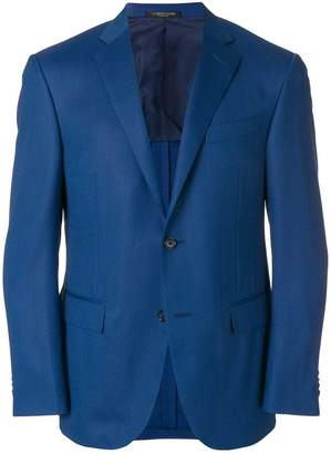 Corneliani formal single-breasted blazer