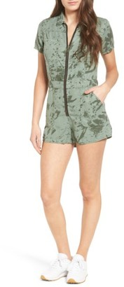 Women's Obey Charlie Romper $106 thestylecure.com