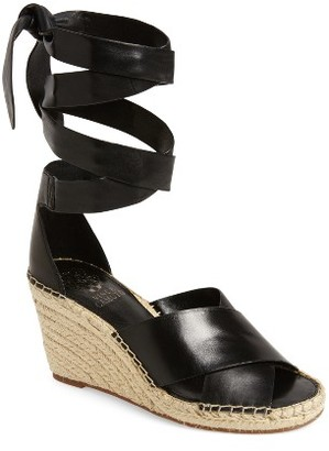 Women's Vince Camuto Leddy Wedge Sandal $98.95 thestylecure.com