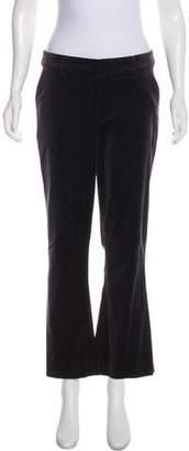 Frame High-Rise Velvet Pants
