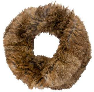 Yves Salomon Fur Knit Snood