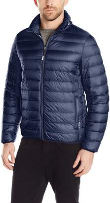 Tumi Men's Pax On-The-Go Packable Jacket and Neck Pillow