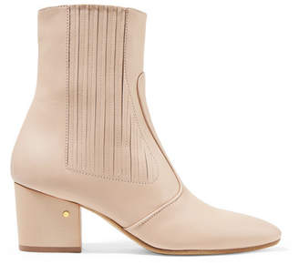 Laurence Dacade Ringo Leather Ankle Boots - Beige