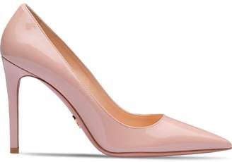 Prada high-heel patent pumps