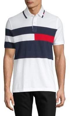 Tommy Hilfiger Logo Short-Sleeve Knit Polo