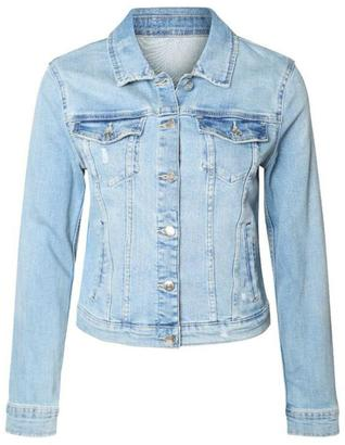 Dex Light Wash Jean Jacket $101 thestylecure.com