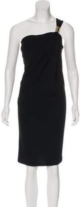 Michael Kors One-Shoulder Mini Dress