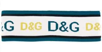 Dolce & Gabbana logo head band