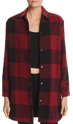 BB Dakota Eldridge Check Coat - 100% Exclusive