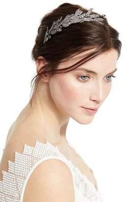 Jennifer Behr Arielle Crystal Leaf Headband