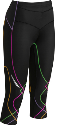 CW-X Women's CW-X 3/4 Length Stabilyx Tights