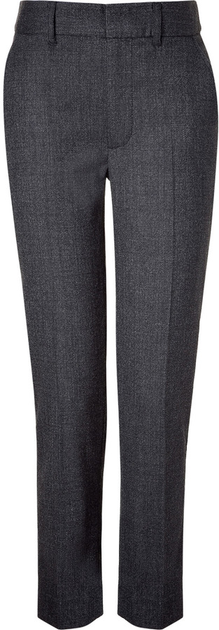 Marc by Marc Jacobs Black Alton Wool Pant