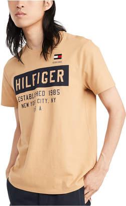 Tommy Hilfiger Men Commuter Logo Graphic T-Shirt