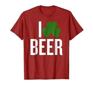I shamrock beer funny T-shirt