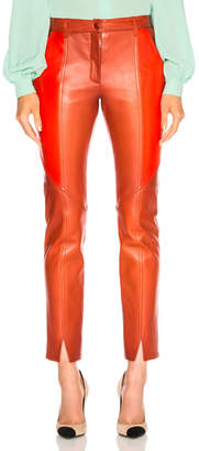 Givenchy Paneled Leather Leggings