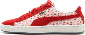 Puma Suede Classic x Hello Kitty Bright Red