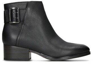 Clarks Elvina Dream Leather Ankle Boots