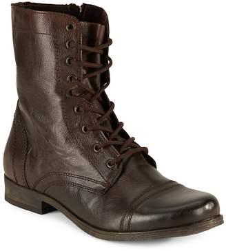 Steve Madden Men's Lace-Up Combat Boots
