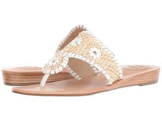 Jack Rogers Capri Raffia Women's Wedge Shoes