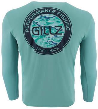 72ccfdc5cb1a0 Gillz Men s Watermark Logo Graphic Moisture-Wicking UV T-Shirt